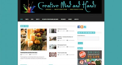 Creative Mind and Hands Homepage