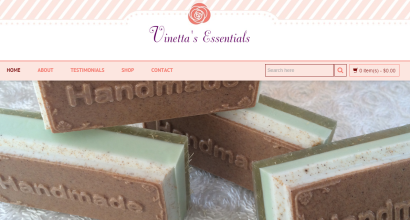 Vinetta's Essentials Homepage
