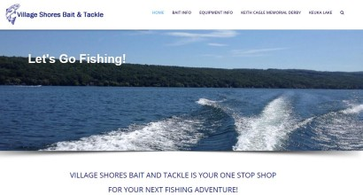 Village Shores Bait and Tackle Homepage