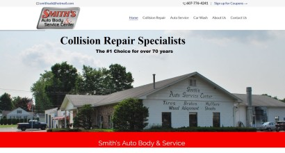 Smiths Autobody and Repair Homepage