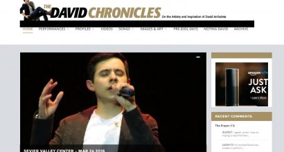 The David Chronicles Homepage